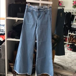 NWT Forever 21 Wide Leg Jeans